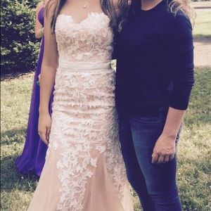 Prom or formal dress size 2-4